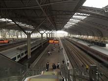 南京駅プラットホーム
