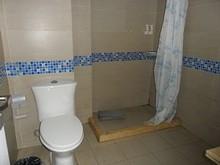 ホステルの浴室
