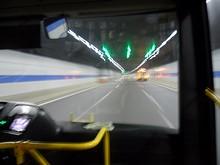 長江トンネル内部