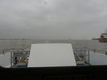 船から見た長江