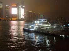 こちらは黄浦江の渡し舟
