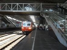 上海行き列車