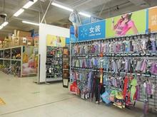 中国定番の女装コーナー
