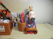 蘇州で買った孔子のペン立て