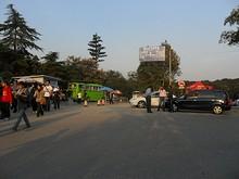 中山陵駐車場