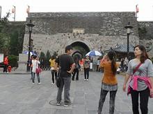 南京を代表する城門、中華門