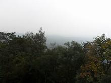 途中の展望台から見た南京市街