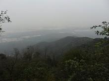 山頂から見た下界