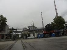 工場への補給線