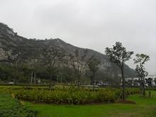 幕府山 絶壁が美しい