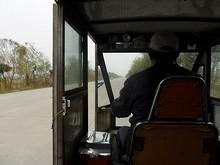 南京以外ではこの手の3輪タクシーをあまり見ない