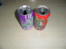 中国のジュース缶