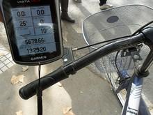 今日も自転車旅行スタート