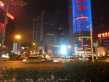 新街口の交差点
