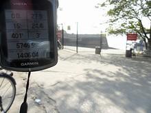 ここまでの走行距離は24.4km