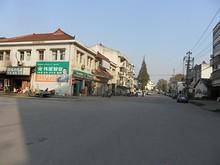 江心洲の中心街