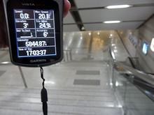 本日の走行距離は24.9kmでした