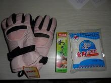買った手袋とワサビ、重曹