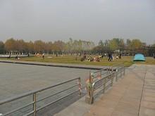 奥体中心そばの公園