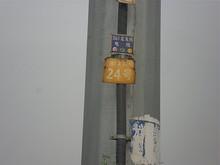 定発線24号鉄塔(終点)