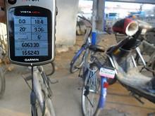 今日の走行距離は9.06kmでした