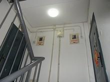 寮の電灯が新しくなった!