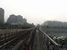 寧銅線の鉄道橋