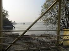 桟橋から見た長江