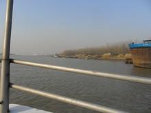 通江集桟橋が見えてきた