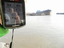 航海距離は8.02kmでした