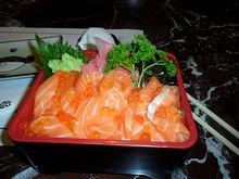 「鮭イクラ丼」