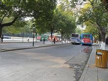 白馬公園バス停