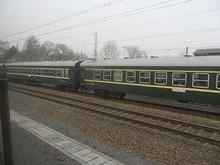 南昌→揚州の列車とすれ違う