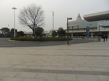 揚州駅バス乗り場