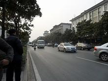 世紀連華バス停付近