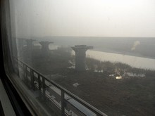 工事中の線路