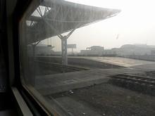 泰州駅に到着