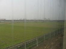 南京方面からの線路が近づいてくる