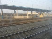 新沂駅に到着