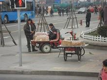 南京にも出ていた、謎の食べ物の屋台