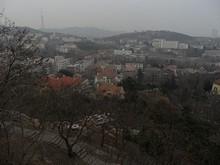 信号山公園から見た市街と青島テレビ塔