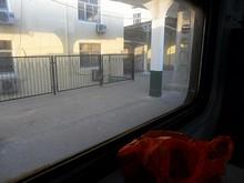 沧口駅に到着