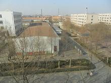 窓から見た寮
