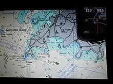 海図とGPS