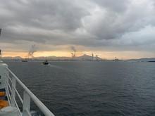 関門海峡の入口