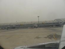 ターミナル2と、さっきまで止まっていた233番スポット