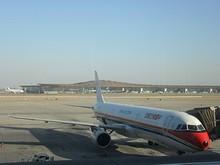 これから搭乗する南京行き東方航空A320