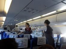 機内サービス開始