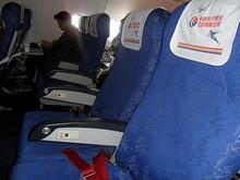 隣2席は誰もいない