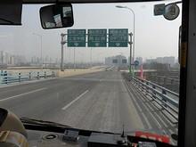 夾江大橋の終点
